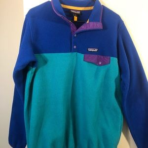 Patagonia Fleece Snap Pullover